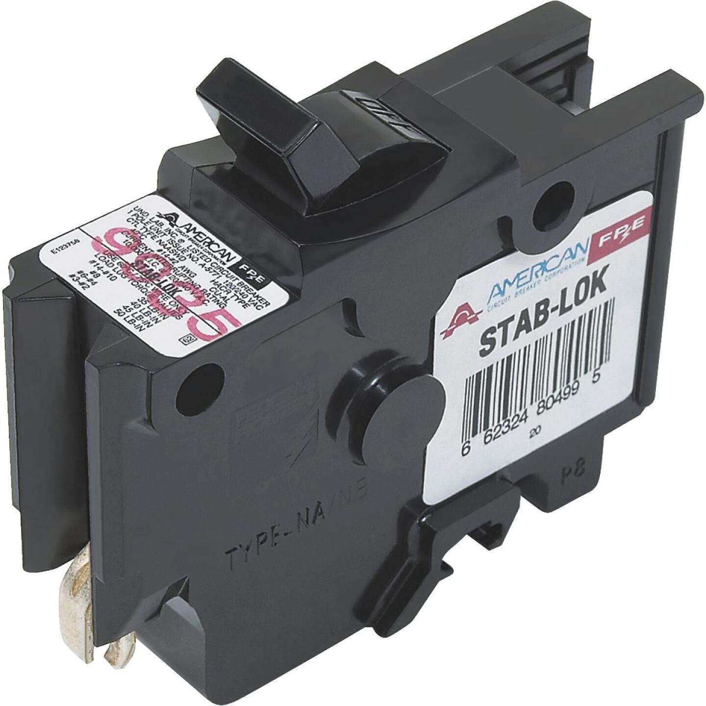 Connecticut Electric 40A Single-Pole Standard Trip Packaged Replacement Circuit Breaker For Federal Pacific Image 1