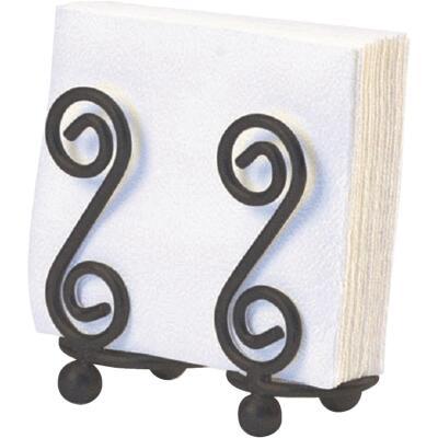 Spectrum S Scroll Design Napkin Holder