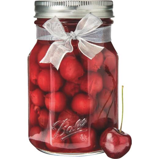 Ball Collection Elite 1 Quart Wide Mouth Sharing Canning Jar (4-Count)