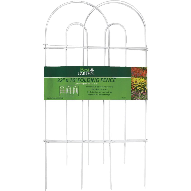 Best Garden 10 Ft. Wire Folding Fence Image 3