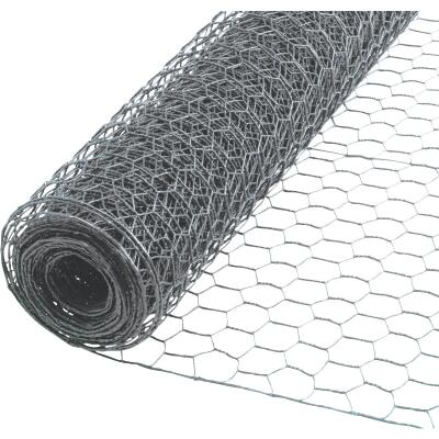 1/2 In. x 48 In. H. x 25 Ft. L. Hexagonal Wire Poultry Netting