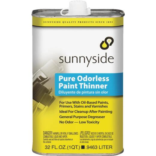 Sunnyside 1 Quart Odorless Paint Thinner